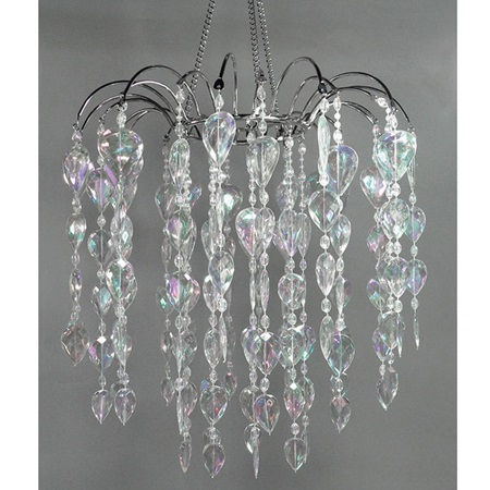 Shabby Chic Teardrop Chandelier