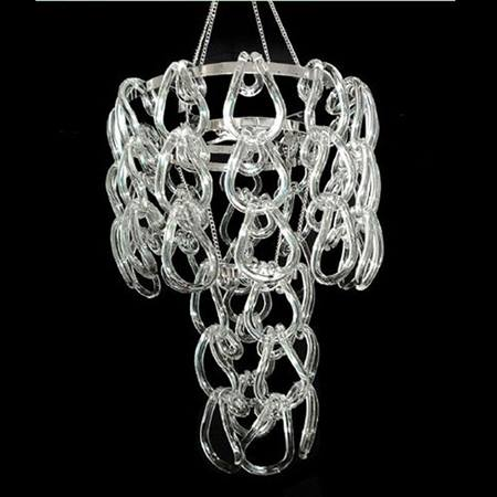 Crystal Hook Chandelier