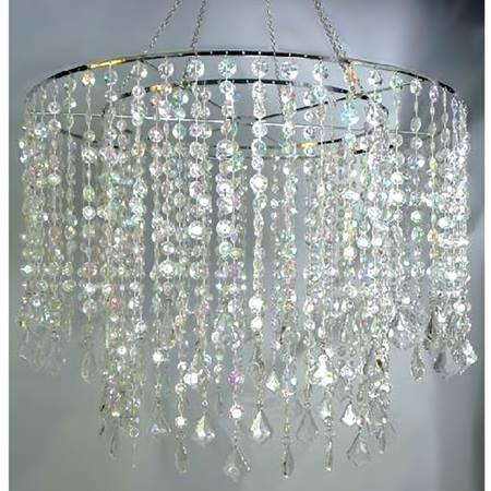 Sparkling Diamond-cut Chandelier