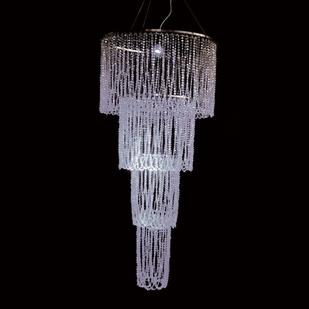 Diamond-Cut Chandelier