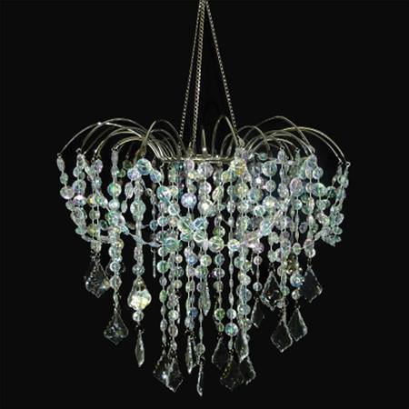 Crystal Strands Chandelier