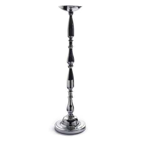 Short Silver Floor Stand