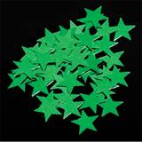 Star Confetti - Green