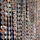 Iridescent Crystal Curtain - 12 ft. long