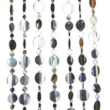 Silver Disc Curtain