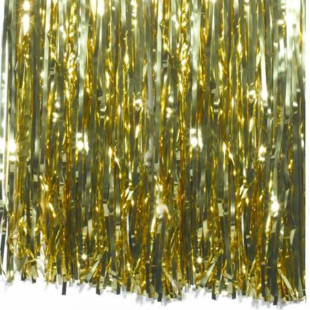 1 ply Metallic Curtain