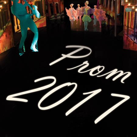 Slide Insert for GOBO Projector - Prom 2017