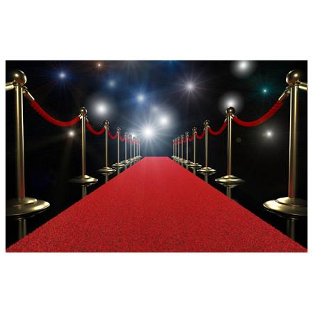 Red Carpet Walkway Photo Mural