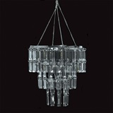 Two-tier Emerald Cut Chandelier