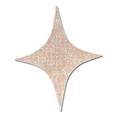 "4-Point Holographic 12"" Stars"
