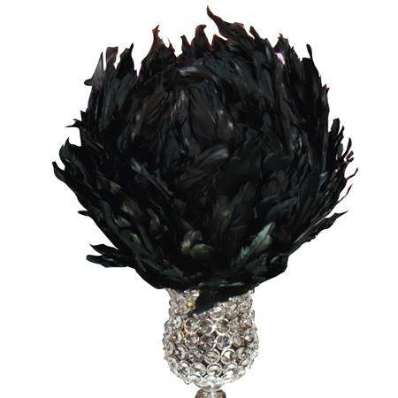 Feather Ball - Black