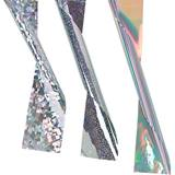Silver Holographic Streamer - 4 in.