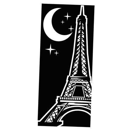 eiffel tower black and white mural anderson 39 s