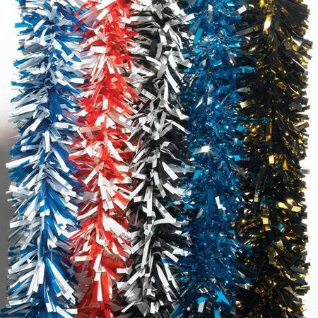 Two-color Metallic Twist Garland