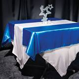 Satin Square Table Cover - 72 in.
