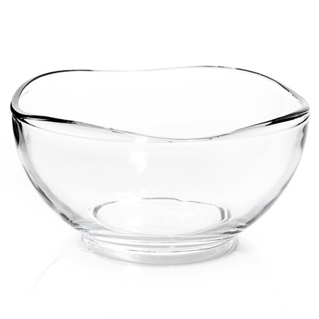 Wavy Edge Glass Bowl