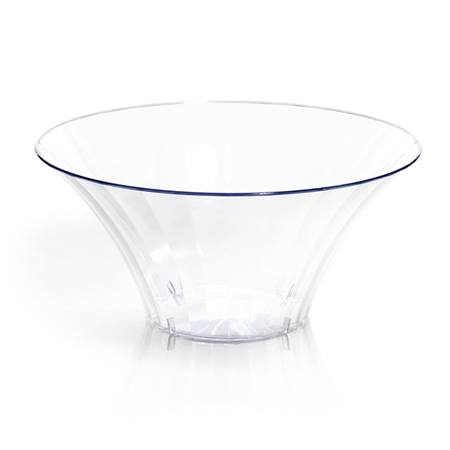 Medium Flared Acrylic Bowl