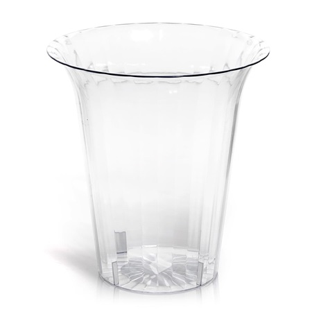 Large Flared Acrylic Cylinder