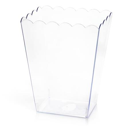 Scalloped Acrylic Container