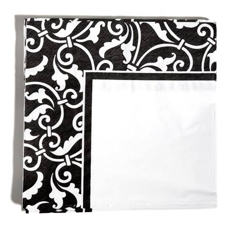 Damask Luncheon Napkins, 16/pkg