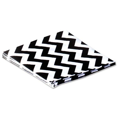 Chevron Beverage Napkins, 36/pkg