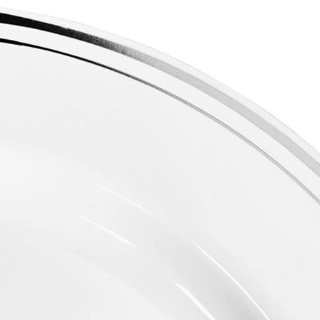 Silver Ring Dinner Plates