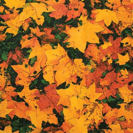 Autumn Leaves Corrugated Patterned Paper