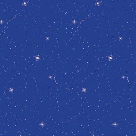 Blue Starflakes Corrugated Patterned Paper