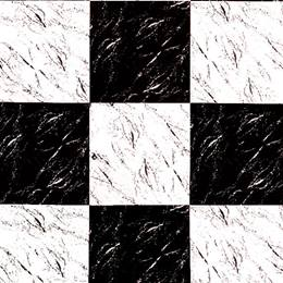 Background Paper - Black/White Marble Checkerboard