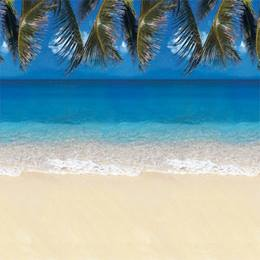 Tropical Beach Background Paper