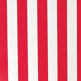 Red and White Striped Flat Patterned Paper