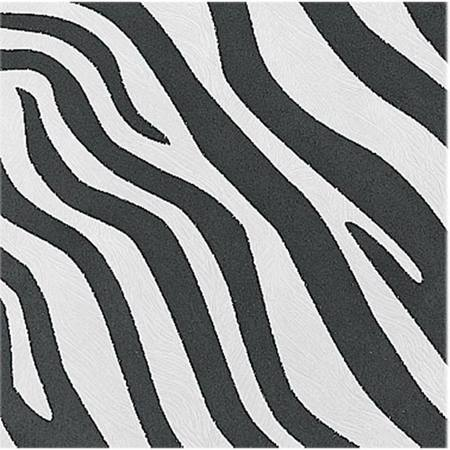 Zebra Flat Patterned Paper