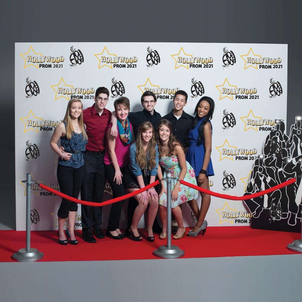 Step And Repeat Wall Photo Prop