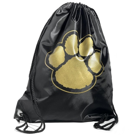 Paw Backpack – Black/Gold