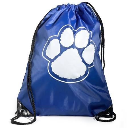 Paw Backpack – Blue/White