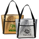 Mini Metallic Gift Tote Bag