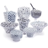 Candy Kit For Candy Buffet - Silver