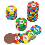 Foil Wrapped Chocolate Poker Chips