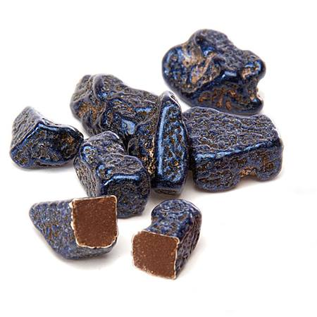 Chocolate Topaz Gemstone Candies