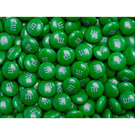 Dark Green M&M's® Milk Chocolate Candy - 2 lbs.
