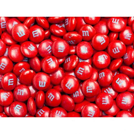 Red M&M's® Milk Chocolate Candy - 2 lbs.