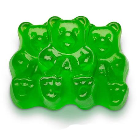 Gummy Bears - Green Apple