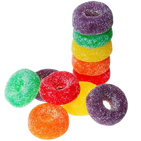 Gummy Ring Candies