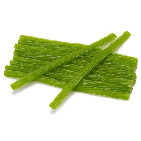 Licorice Twist Candy - Green Apple