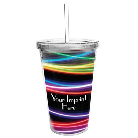 Tumbler with Full-color Insert - Club Prom