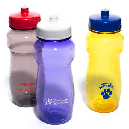Eclipse Bottle With Push/Pull Lid