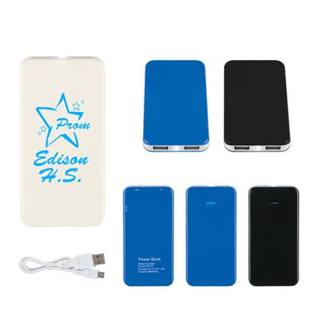 Travel Power Bank With LED