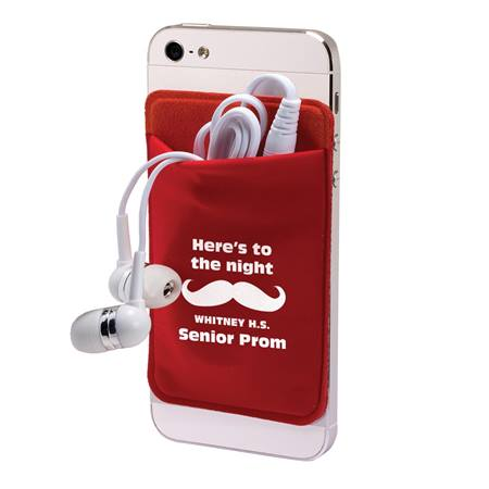 Mobile Device Pocket and Ear Buds Set