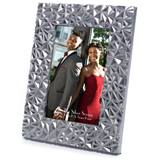 Silver Diamond-cut Frame