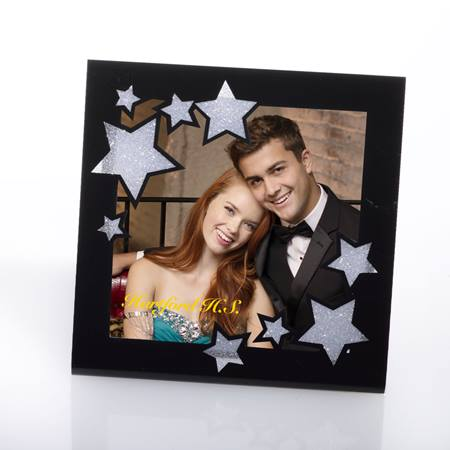 Star Gazing Black Acrylic Frame
